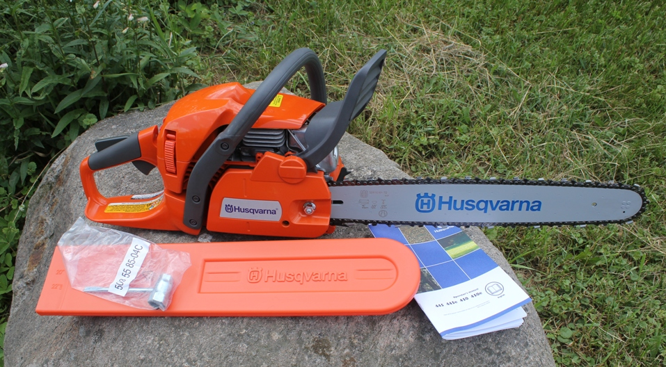 the chainsaw example