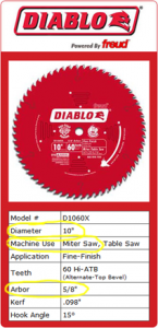 Miter Saw Blade Guide
