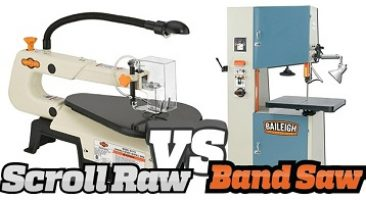 Bandsaw vs Scroll Saw – What's the Difference?