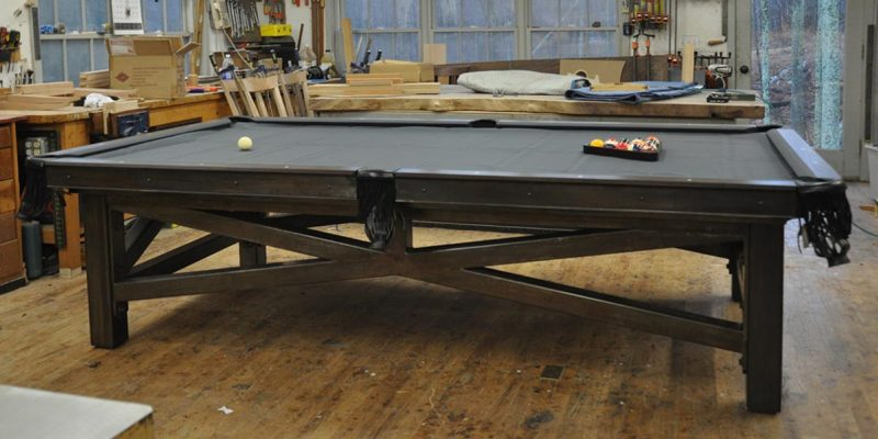 woodworking pool table