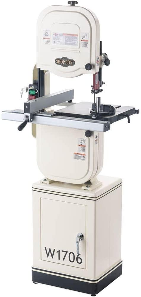 Shop Fox W1706 bandsaw for resawing
