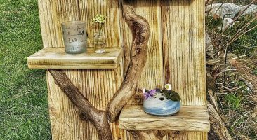 DIY Driftwood Shelf – Detailed Instructions