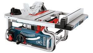 Bosch 10 Inch Portable Jobsite Table Saw GTS1031 with One Handed Carry Handle