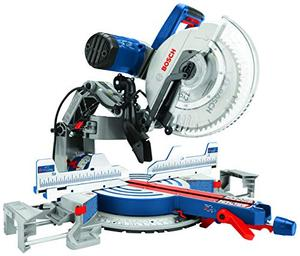 Bosch Power Tools GCM12SD 15 Amp 12 Inch Corded Dual Bevel Sliding Glide Miter Saw with 60 Tooth Saw Blade