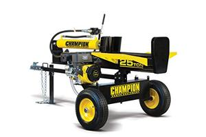 Champion 25 Ton HorizontalVertical Full Beam Gas Log Splitter with Auto Return