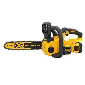 DEWALT 20V MAX XR Chainsaw Kit, 5 Ah Battery, 12 Inch (DCCS620P1)