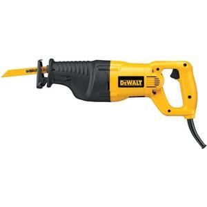 DEWALT DW310K 12 Amp Heavy Duty Reciprocating Saw Kit