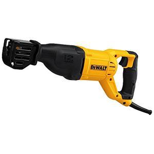 DEWALT Reciprocating Saw, Corded, 12 Amp (DWE305)
