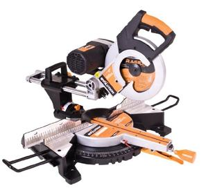 Evolution Power Tools RAGE 3 DB 10 Inch TCT Multipurpose Cutting Double Bevel Compound Sliding Miter Saw, Orange, 10 Double Bevel Miter Saw