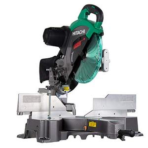 Hitachi C12RSH2 15 Amp 12 Inch Dual Bevel Sliding Compound Miter Saw with Laser Marker