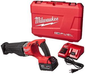 Milwaukee 2720 21 M18 Fuel Sawzall Reciprocating Saw Kit