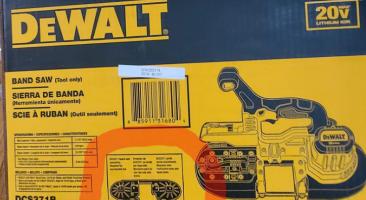 The DEWALT DCS371B Band Saw Review