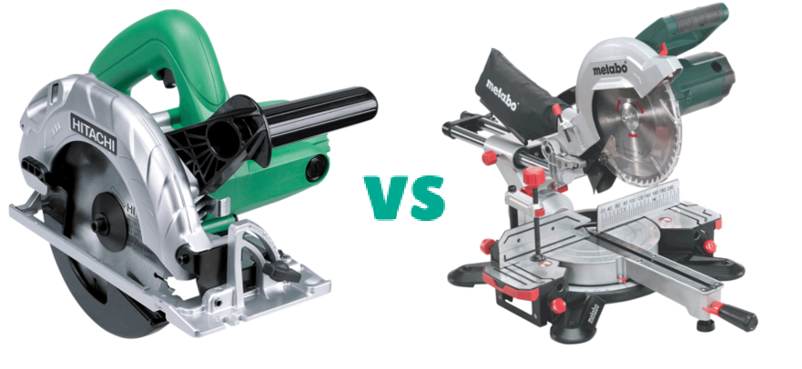 circular saw vs miter saw comparison