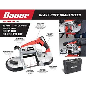 Bauer portable band saw