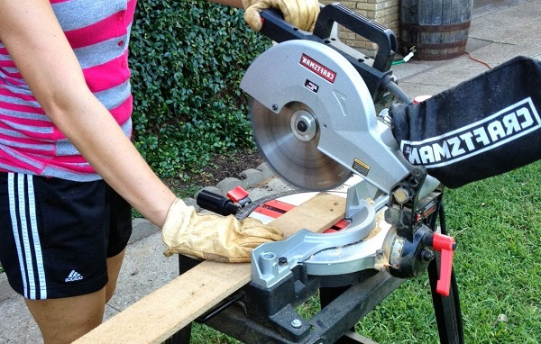 best miter saw for homeowner at work