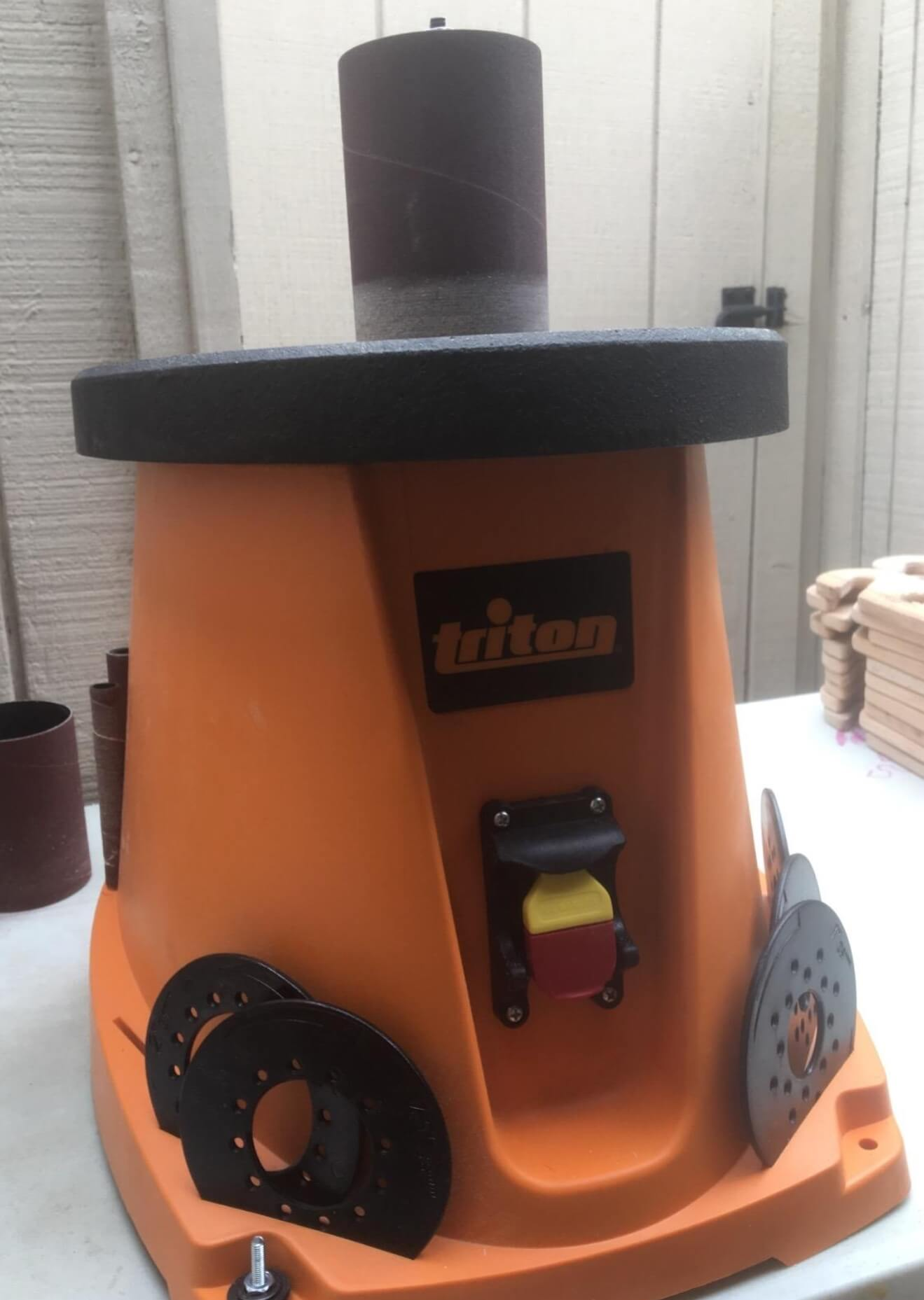 Triton TSPS450 in workshop assembly